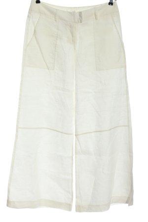 H&M Leinenhose wollweiß Casual-Look