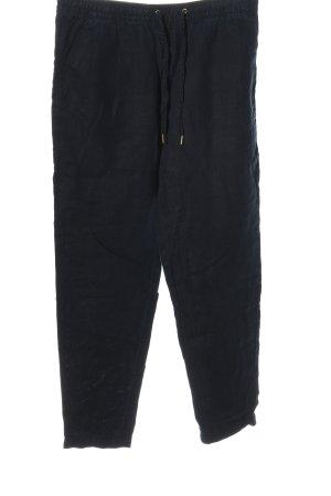 H&M Pantalone di lino blu stile casual