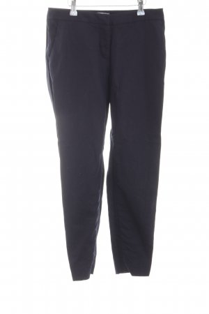 H&M Leinenhose blau Business-Look