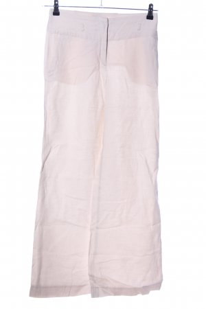 H&M Leinenhose creme Casual-Look