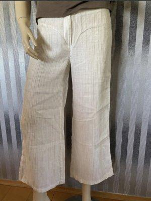 H&M Linen Pants gold-colored-oatmeal linen