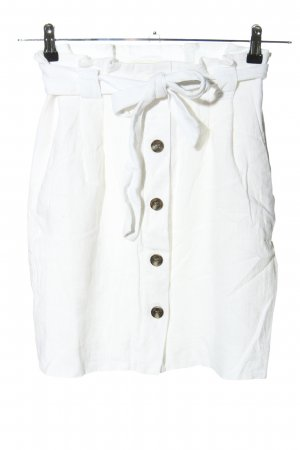 H&M Linnen rok wit casual uitstraling