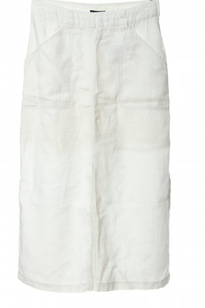 H&M Jupe en lin blanc style d'affaires