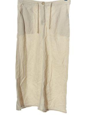H&M Jupe en lin blanc cassé style décontracté