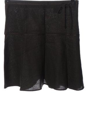 H&M Gonna in lino nero stile casual