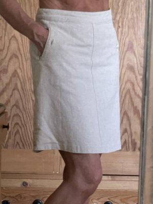 H&M Lniana spódnica Wielokolorowy