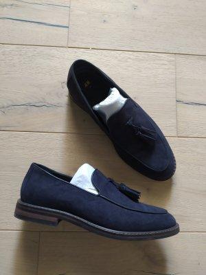 H&M Slippers dark blue
