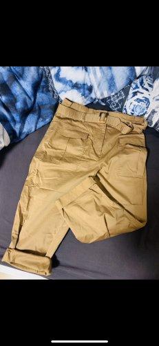 H&M Pantalone boyfriend sabbia