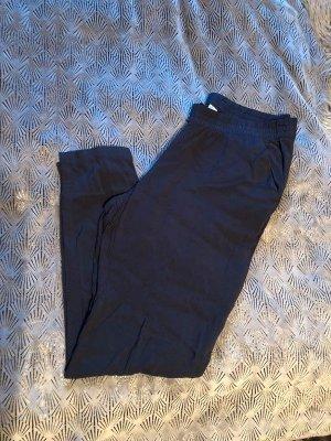 H&M 7/8-broek donkerblauw-blauw