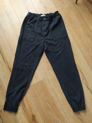 H&M L.O.G.G. Pantalon «Baggy» gris anthracite