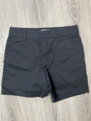 h&m logg damen schwarze sommer shorts gr 36 gebraucht