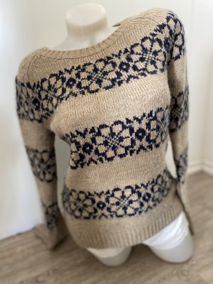 H&M LOGG Gr.S 38 Pullover wollpullover Herbst Winter top