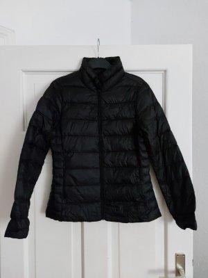 H&M LOGG Stepp-Jacke 40 M Schwarz 90% Daunen 10% Federn