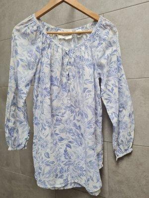 H&M Logg Strandtunika Bluse Floral