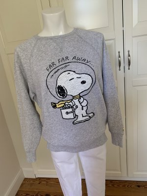 H&M LOGG Sweatshirt Snoopy RARITÄT! grau Gr. M neu!!