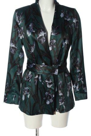 H&M Long-Blazer Allover-Druck Casual-Look