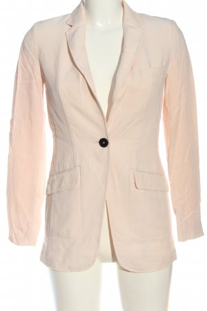 H&M Long-Blazer creme Casual-Look