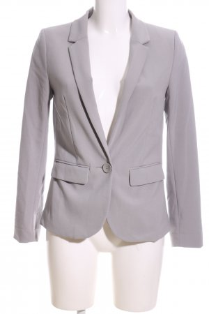 H&M Long-Blazer hellgrau Business-Look