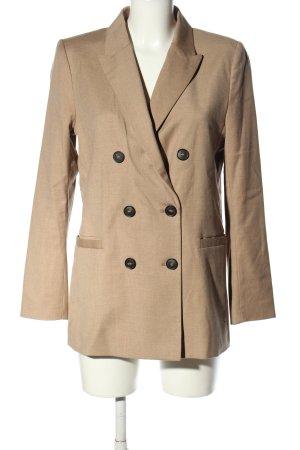 H&M Long-Blazer wollweiß Casual-Look