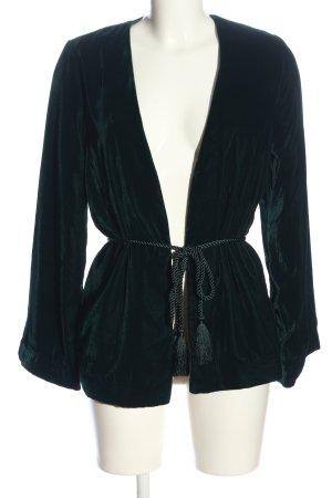 H&M Long-Blazer grün Casual-Look