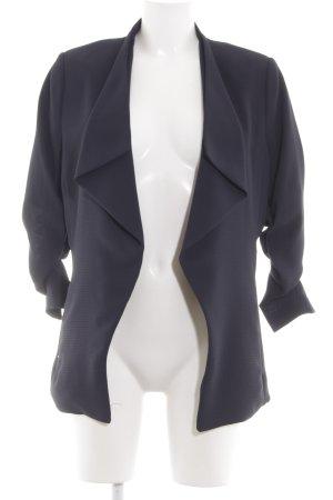 H&M Long-Blazer blau Casual-Look
