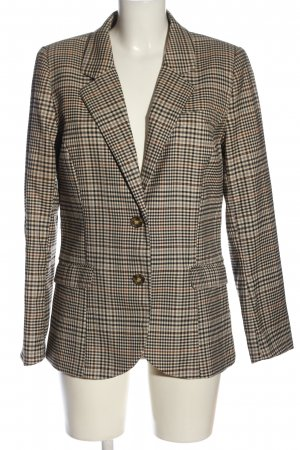 H&M Long-Blazer Karomuster Casual-Look