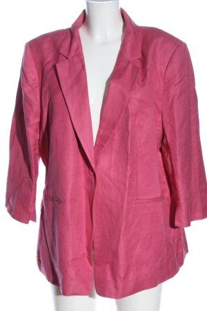 H&M Blazer largo rosa look casual