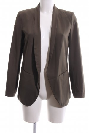 H&M Long-Blazer bronzefarben Business-Look