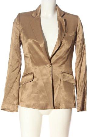 H&M Long-Blazer braun Elegant