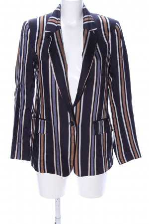 H&M Long-Blazer Streifenmuster Business-Look