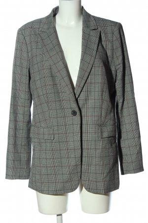 H&M Long-Blazer Allover-Druck Business-Look