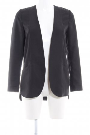 H&M Long-Blazer anthrazit Business-Look