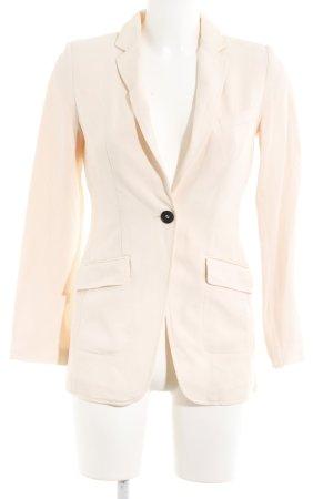 H&M Long-Blazer apricot-lachs Business-Look
