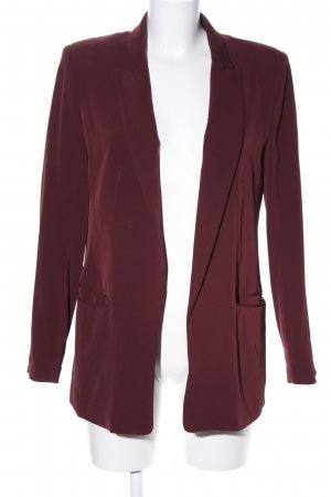 H&M Long-Blazer rot Business-Look