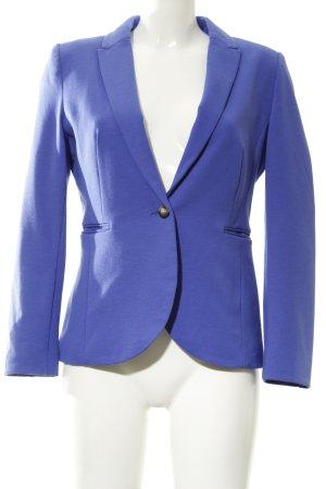 H&M Long-Blazer blau klassischer Stil