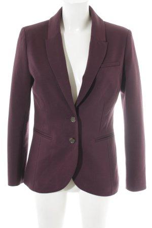 H&M Long-Blazer brombeerrot Elegant