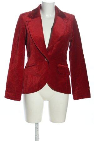 H&M Long-Blazer rot extravaganter Stil