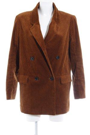 H&M Long-Blazer cognac Casual-Look