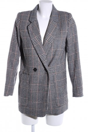 H&M Long-Blazer Karomuster Business-Look