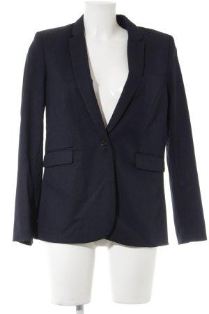 H&M Long Blazer dark blue business style
