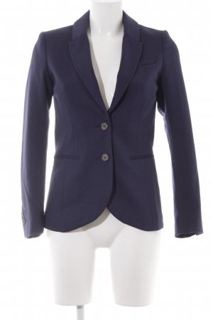 H&M Long-Blazer dunkelblau Casual-Look