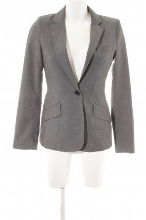 H&M Long-Blazer dunkelgrau Business-Look