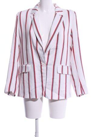 H&M Long-Blazer Streifenmuster Business-Look