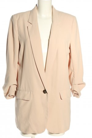 H&M Long-Blazer nude Casual-Look