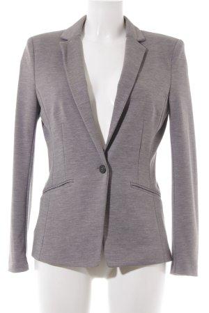 H&M Long-Blazer grau schlichter Stil