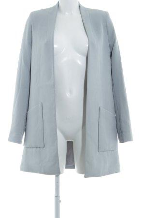 H&M Long-Blazer graublau Elegant