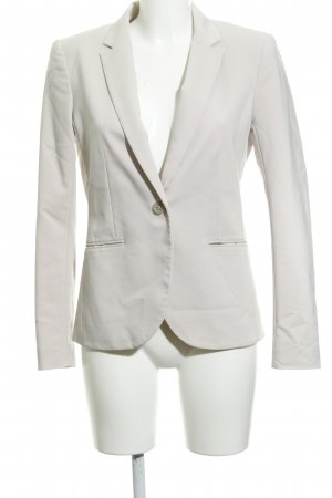 H&M Long-Blazer hellbeige Business-Look