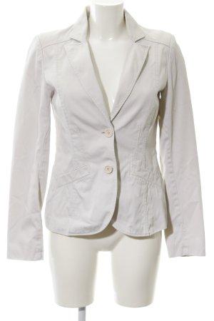 H&M Long-Blazer hellbeige klassischer Stil