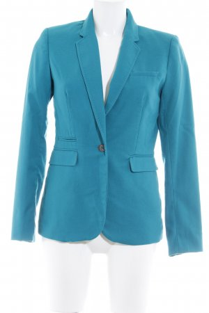 H&M Long-Blazer kadettblau Business-Look
