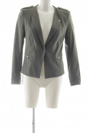H&M Long-Blazer khaki Casual-Look
